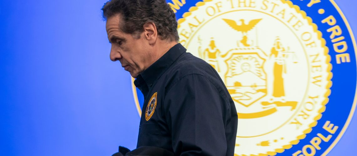 New,York,,Ny,-,March,24,,2020:,Governor,Andrew,Cuomo