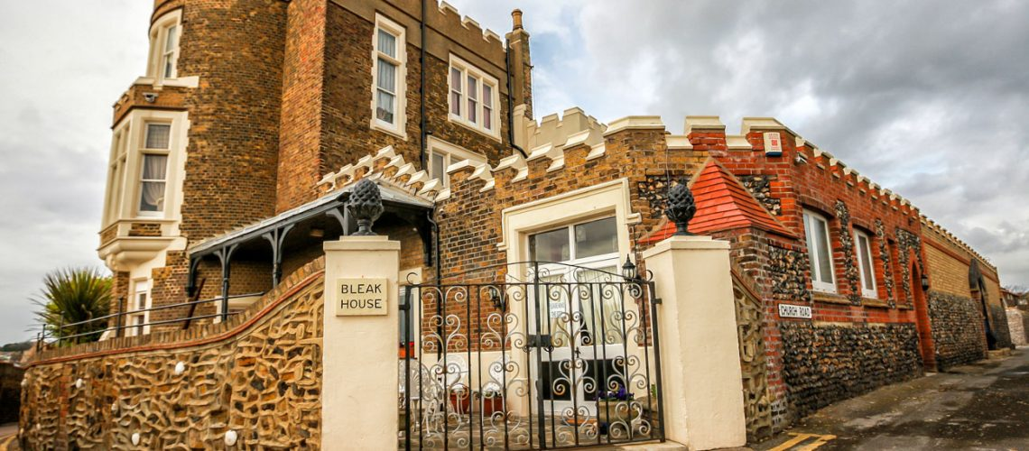 Bleak,House,,Once,Home,To,Charles,Dickens.,Broadstairs,Kent,,England-