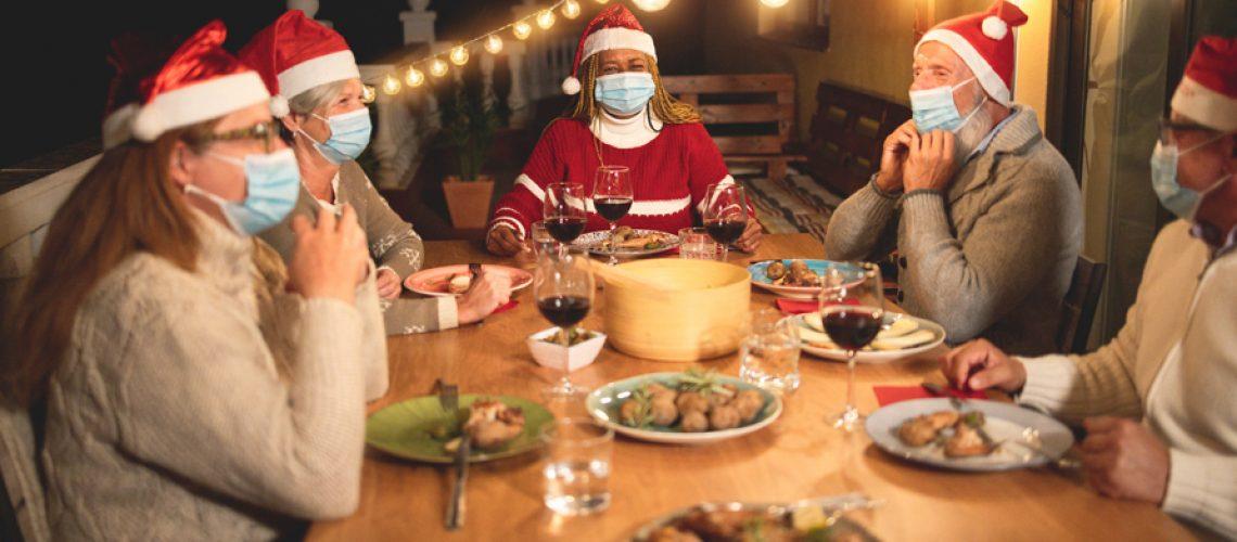 Covid Christmas dinner