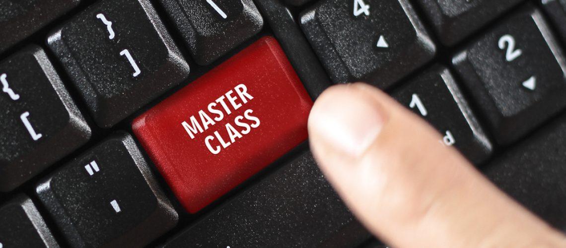 keyboard Master Class button